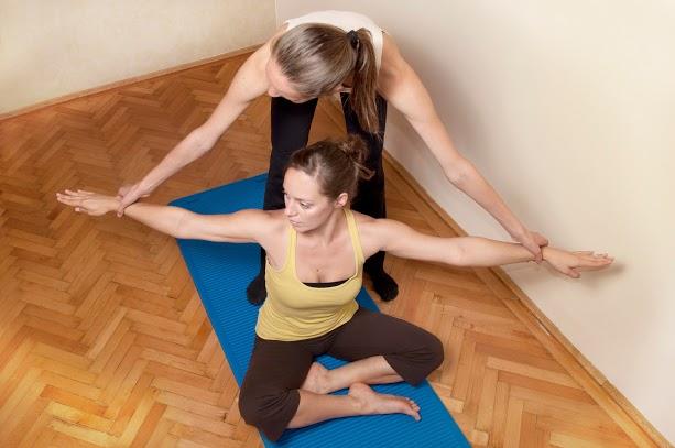 Pilates talajon