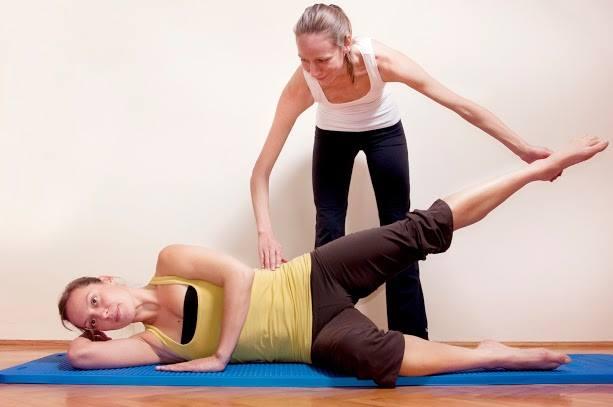 Pilates gyakorlatok
